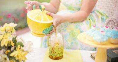 hjemmelavet iste, hjemmelavet citron iste