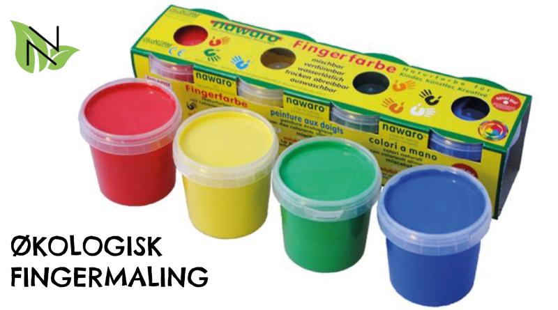 økologisk fingermaling, fingermaling økologisk, økologisk maling til børn, øko fingermaling, fingermaling øko