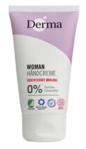 Derma Eco Woman Håndcreme, Derma økologisk Håndcreme, cremer med økologi, Eco cremer, Eco håndcremer
