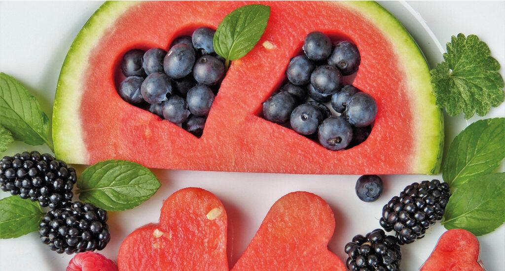 vandmelon, guide til vandmelon, den bedste vandmelon, find en god melon, hvordan ved man en vandmelon er god, blåbær, brombær, frugt